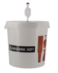 Accessoires du brasseur - Seau de fermentation gradué 30L Saveur-Bière sans robinet, non perforé