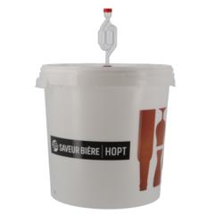 Brouwbenodigdheden - Seau de fermentation gradué 30L Saveur-Bière sans robinet, non perforé