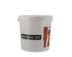 Brouwbenodigdheden - Seau Saveur-Bière sans robinet avec couvercle non troué