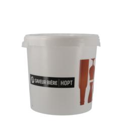 Accessoires du brasseur - Seau de fermentation 30L Saveur-Bière sans robinet avec couvercle non troué