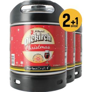 Pack 3 fûts 6L Diekirch de Noël