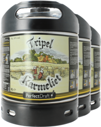 Kegs - Pack 3 fûts 6L Tripel Karmeliet