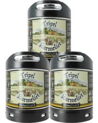 Fûts de bière - Pack 3 fûts 6L Tripel Karmeliet