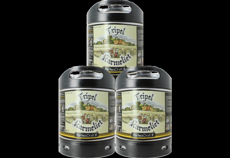 Kegs - Pack 3 6L Tripel Karmeliet kegs