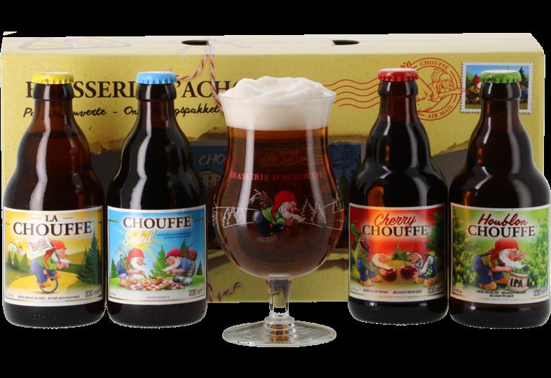 Coffrets cadeaux verre et bière - Coffret Chouffe Pack Découverte