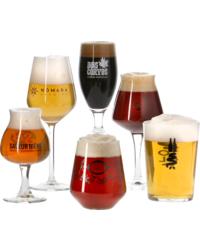 Verres à bière - Pack 6 verres originaux