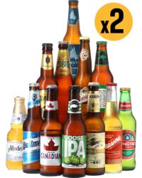 assortiments - Pack 2 Assortiments Bières du Monde