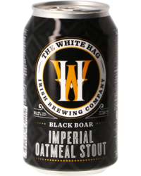 Bouteilles - The White Hag Black Boar - Canette