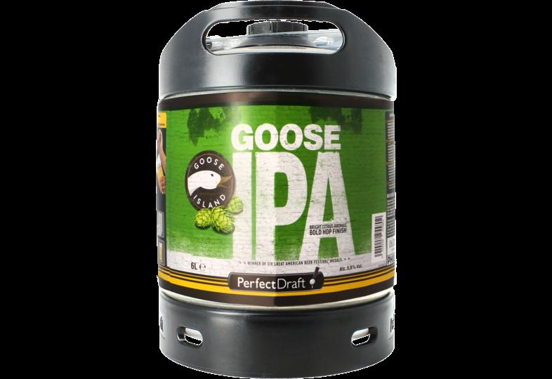 Bier Tapvatjes - Goose Island IPA PerfectDraft Vat 6L
