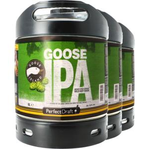Pack 3 fûts 6L Goose Island IPA
