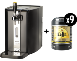 Fûts - Machine Perfectdraft + 9 fûts 6L Leffe blonde