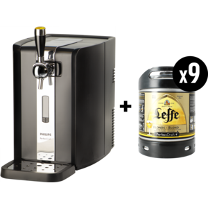 Machine Perfectdraft + 9 fûts 6L Leffe blonde