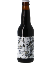 Bottled beer - Uiltje Al9or1thm (Algorithm) - Bourbon BA