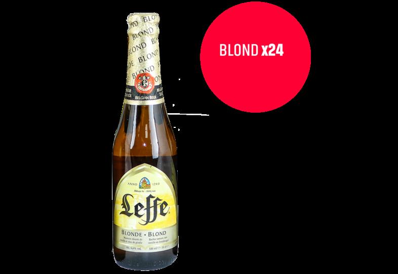 Glurenbijdeburen - Leffe Blonde 24 Pack