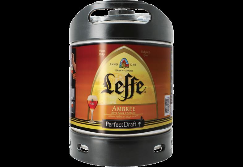 Fusti di birra - Fusto 6 litri Leffe Ambrée Perfectdraft