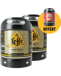 Kegs - Assortiment 3 fûts 6L : 2 Leffe Blonde - 1 Diekirch de Noël