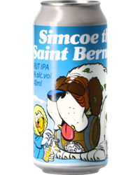Botellas - Uiltje Simcoe the Saint Bernard