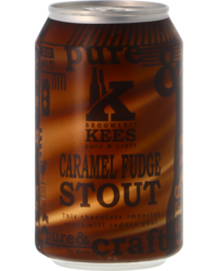 Bottled beer - Kees Caramel Fudge Stout - Can