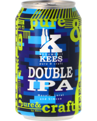 Bottled beer - Kees Double IPA - Can