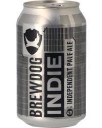 Flessen - BrewDog Indie Pale Ale - Canette