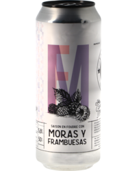 Bottled beer - La Virgen Saison Moras y Frambuesas