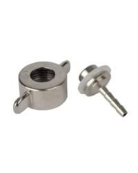 Brouwbenodigdheden - hose-fitting 4 mm for CO2-regulator