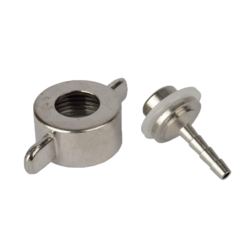 Accessoires du brasseur - hose-fitting 4 mm for CO2-regulator