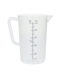 Outils de mesure - Measuring jug polypropylene graduated 500 mL