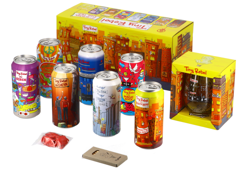 Accessoires et cadeaux - Tiny Rebel 7th Birthday Collab Pack