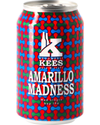 Bottled beer - Kees Amarillo Madness IPA - Can