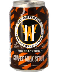 Botellas - The White Hag Black Sow Nitro Stout - Lata