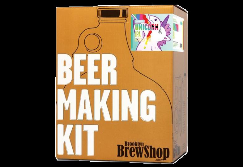 Kit ricette per tutti i grani - Kit di brassaggio Brooklyn Brew - Unicorn IPA