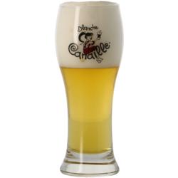 Verres à bière - Verre Blanche Canaille - 25 cl