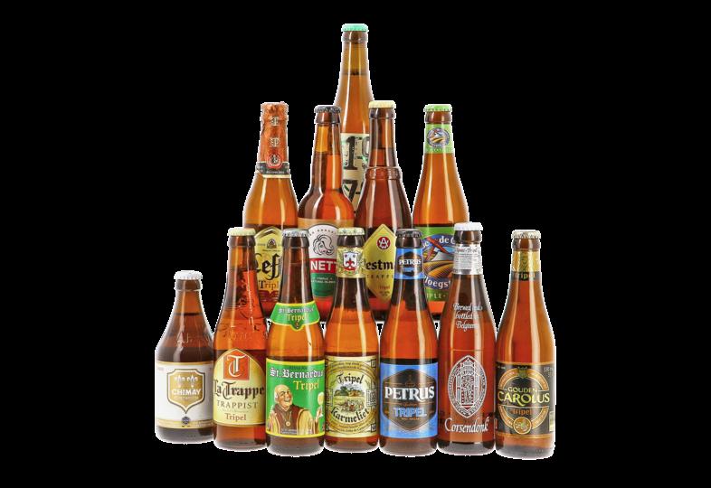 Regalos y accesorios - HOPT Tripel pack - 12 cervezas clásicas de estilo Tripel