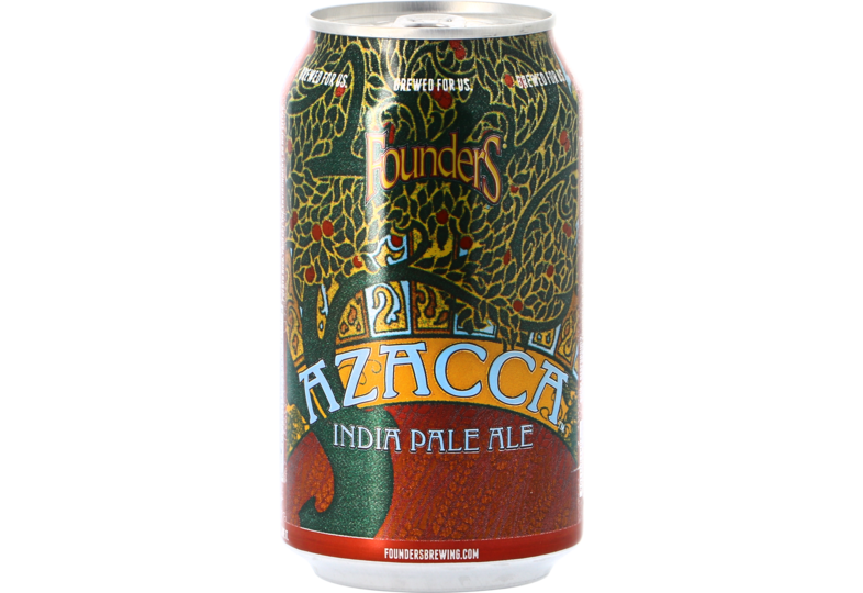 Bottled beer - Founders Azacca IPA - Can