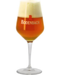 Beer glasses - Verre à pied Rodenbach - 33 cl