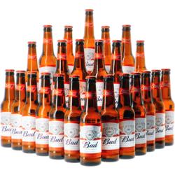 "Cadeaus en accessoires - Bud ""The King of Beers"" 24-pack 33cl"