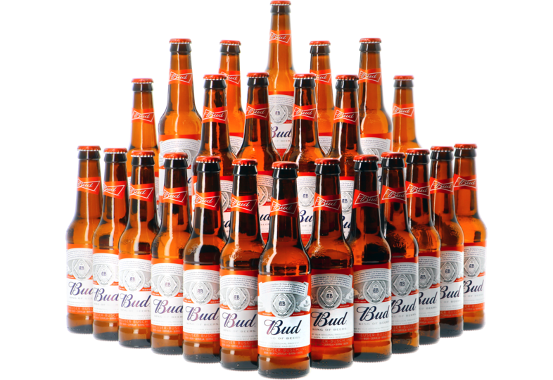 "Cadeaus en accessoires - Bud ""The King of Beers"" 24-pack 33cl"