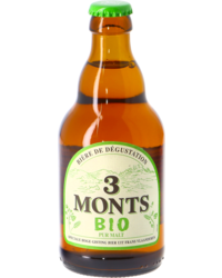 Bottled beer - 3 Monts BIO