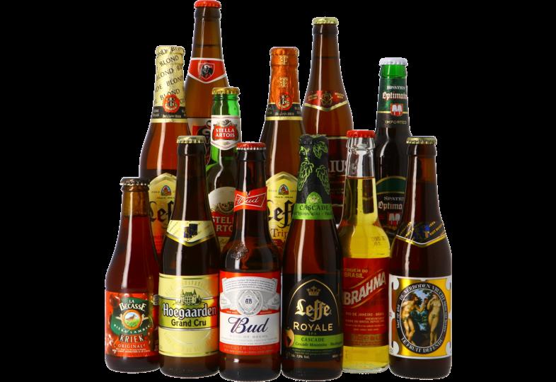Accessoires et cadeaux - Assortiment 12 bières