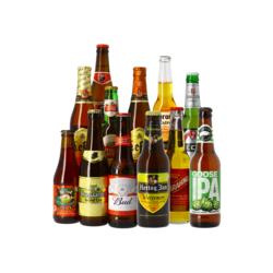 Cadeaus en accessoires - Internationale Bestseller Bierpakket - 12 stuks