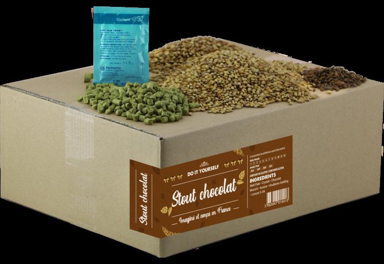 Kit à bière tout grain - Edition Limitée - Recette Beer Kit stout chocolat