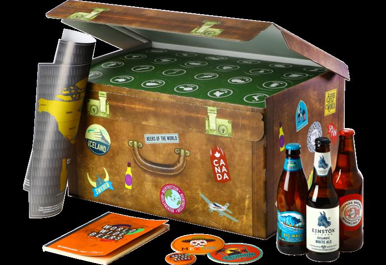 Cadeaus en accessoires - World Wide Bier Cadeau - 24stuks