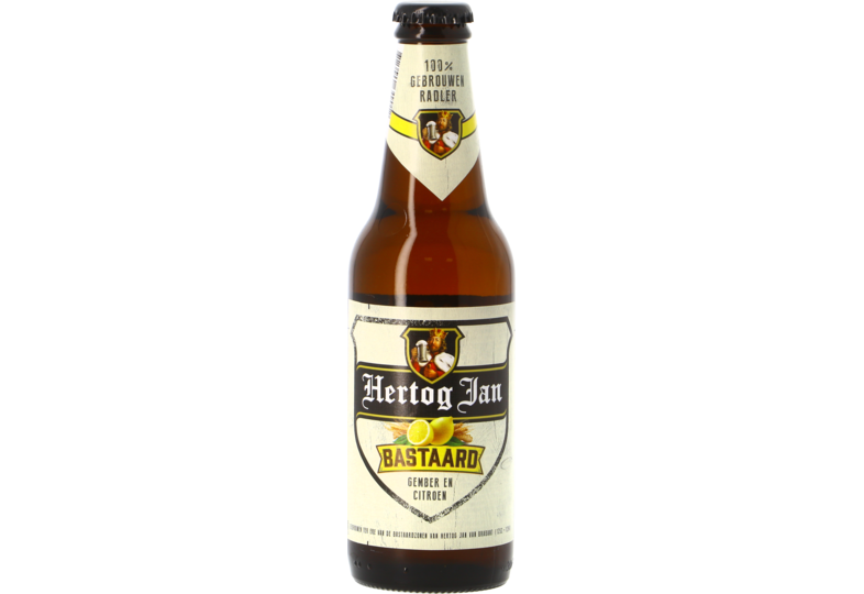 Bottiglie - Hertog Jan Bastaard Gember en Citroen