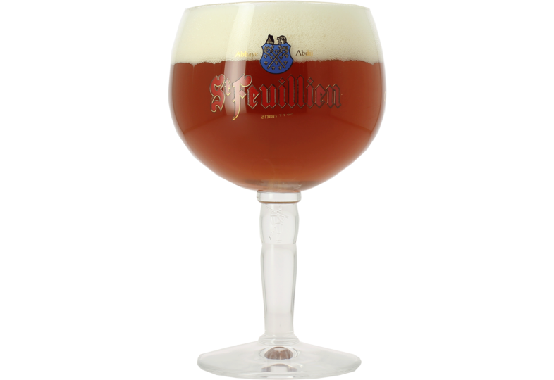 Beer glasses - St Feuillien 33cl glass