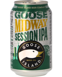 Bottled beer - Goose Island Midway Session IPA - Canette