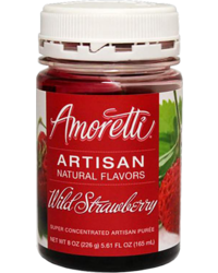 Additifs de brassage - Amoretti - Artisan Natural Flavors - Walderdbeere 226 g