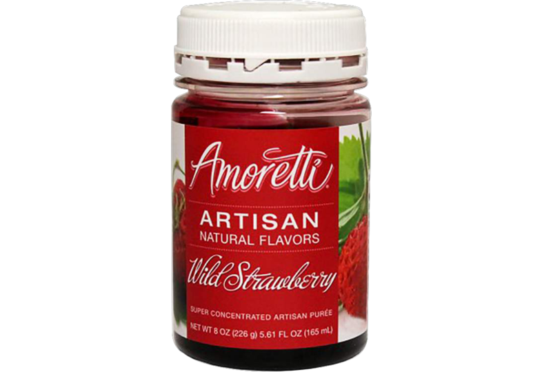 Additivi di brassaggio - Amoretti - Artisan Natural Flavors - Wild strawberry 226 g
