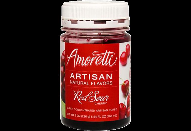 Additifs de brassage - Amoretti - Artisan Natural Flavors - Cerise aigre rouge 226 g