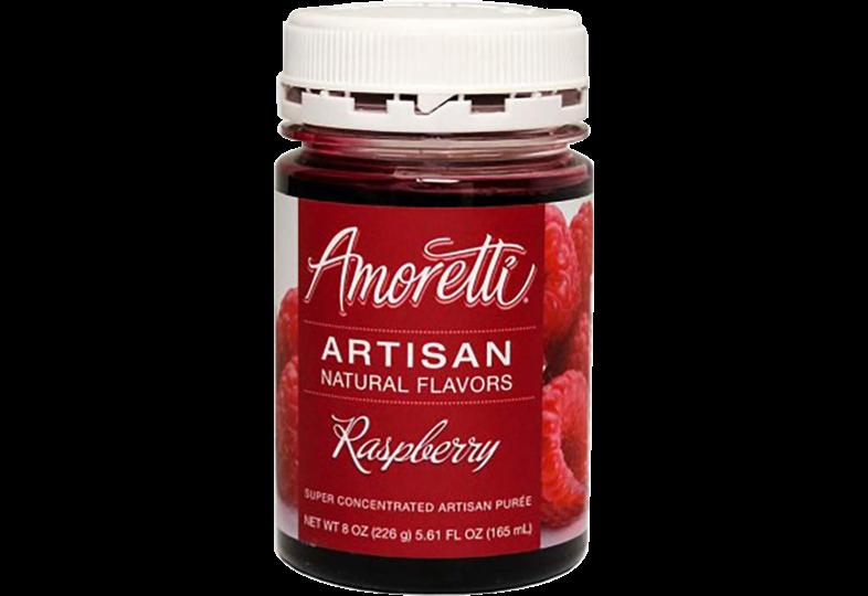 Tillsatser - Amoretti - Artisan Natural Flavors - Raspberry 226 g